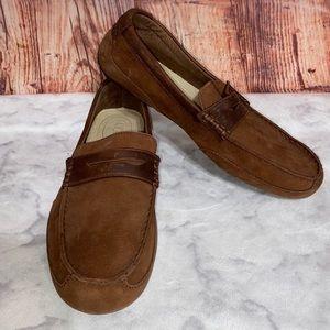 Ugg | Tucker Nubuck Leather Driving Loafer